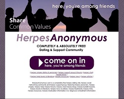 herpes anonymous